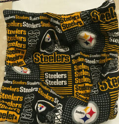 Pittsburgh Steelers Tailgate Bowl Cozy, For Hot And Cold Food, Black And Gold,