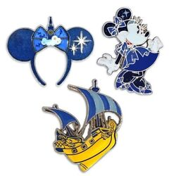 New Minnie Mouse The Main Attraction June Peter Pan Pins