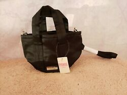 Victoria#x27;s Secret Pink Crossbody Mini Bucket Bag Black NWT $23.00