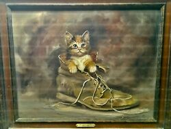 Marty Bell Paintings Big Daddy's Shoe One Of Marty's Sentimental Favorites