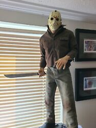 Jason Voorhees Friday The 13th Premium Format Statue Excl Sideshow Collectibles
