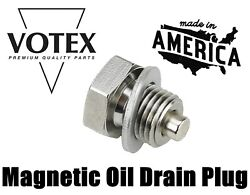 Stainless Steel Drain Plug - Fits 4 Stroke Yamaha Outboard 90340-14m06-00