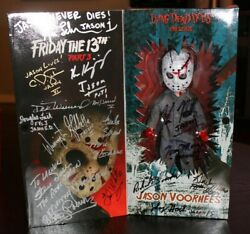 Friday The 13th Jason Voorhees Living Dead Doll - Signed By 15 Jasons - Jsa Loa