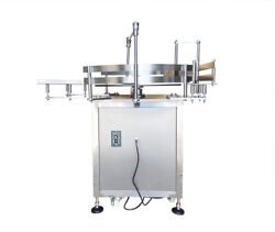 110v 31.5 Inch Automatic Bottle Accumulation Table Bottle Turning Table Packing