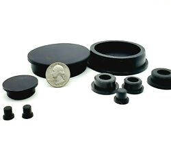 Rubber Hole Plugs Push-in Compression Stem Multiple Sizes 7/8 - 2 1/2 Silicon