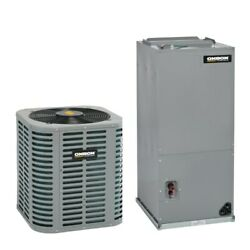 Oxbox - 1.5 Ton Cooling - Air Conditioner + Air Handler Kit - 15.0 Seer
