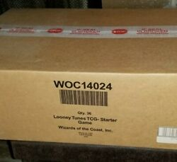 Factory Sealed Wotc Looney Tunes 2 Player Starter Theme Deck Case