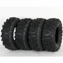 Ocelot Atv A/t 26x9-12 And 26x11-12 Mud/sand/dirt/rock P390 Tires 4 Pack