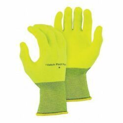 Majestic Glove 3368hvy/9 Superdex Hi-vis Coated Gloves Palm Coverage Yellow