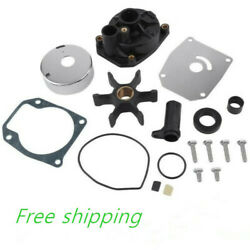 For Omc Johnson Evinrude Outboard 60-70hp Water Pump Kit 438602 W Housing New