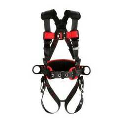3m Protecta 1161317 Full Body Harness, Vest Style, Xl, Polyester, Black