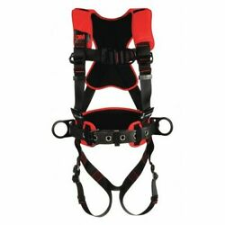 3m Protecta 1161210 Positioning/climbing Harness, Vest Style, M/l, Polyester,