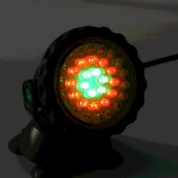 Submersible 36 Led Rgb Pond Spot Lights Underwater Fish Tank Pool Fountain Usa