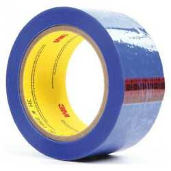 3m 8901 Film Tape,polyester,blue,2in X 72yd,pk24