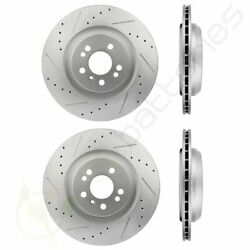 Drill And Slotted Front And Rear Brake Rotors Discs Fits 06-11 Mercedes-benz R350