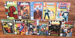 Lot 11 The Punisher Marvel Comic Books Archie Special Year One 1 Summer School