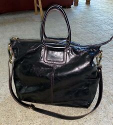 New HOBO BAGS Sheila black leather Travel crossbody bag purse $328 $239.99