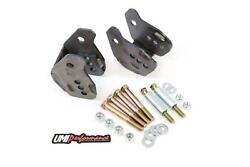 Umi 64-72 Chevelle Gm A-body Rear Lower Control Arm Relocation Brackets- Weld In