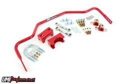78-88 G-body 1 Tubular Rear Sway Bar Chassis Mounted 3.250 Rear End - Red