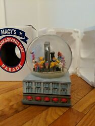 1999 Macy's Thanksgiving Day Parade Musical Snow Globe Snowglobe Twin Towers Nyc