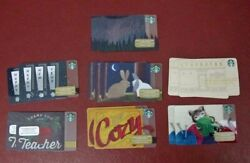 Lot Of 15 Starbucks, 2015 Assorted Gift Cards New W/ Tags