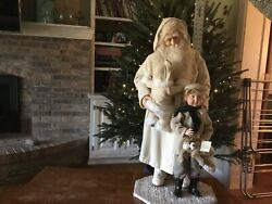 Victorian Father Christmas With Children