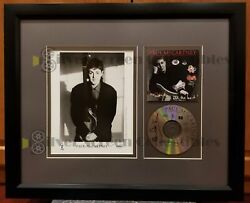Paul Mccartney - Signed Cd - In One Of A Kind Display