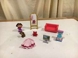Mattel Dora The Explorer Toy Dollhouse Bathroom Furniture Parts And Other