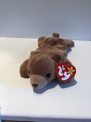 Cubbie The Beanie Baby Rare 1993 Retired With P.v.c Pellets