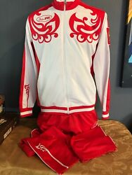 Vancouver 2010 Games Xxi Winter Olympic Russian Warmup Jacket/pants Bosco Sport