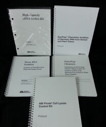 Applied Biosystems Abi Prism 6100 6700 User Guide Set New Free Shipping