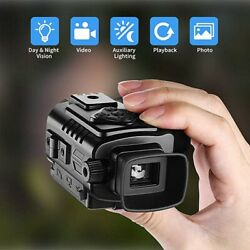 Mini Hd Infrared Digital Night Vision Electronic Zoom Pocket-sized Night Viewer