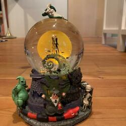 Nightmare Before Christmas Snow Globe Music Boxes On Sale.