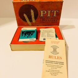 1964 Pit Card Game Vintage The Worlds Liveliest Trading Game Vintage