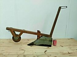 Plow Plough Seeding Machine Very Rare Manual Agricultural 1920s