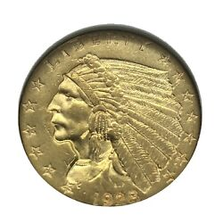 1928 Indian Gold Quarter Eagle 2.50 Indian Head Coin - Choice Uncirculated