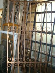 Antique Cast Iron Gate From Large Estate In Argentina C.1850-1880