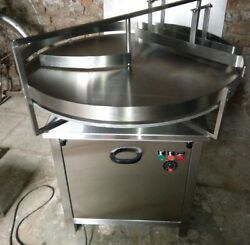 Stainless Steel Accumulation Table 48 Diameter 110 Vac Single Phase Power