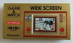 Nintendo Game And Watch Octopus Oc-22 1981 Very Rare   New   Handheld Game