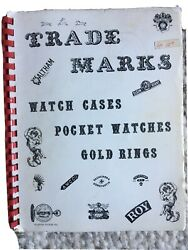 Trademarks Pocket Watches, Cases, Gold Rings - By Roy Ehrhardt 1973, Spiral