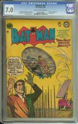 Batman 81 Cgc 7.0 Cr/ow Pages // Two-face Appearance