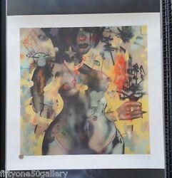 David Choe Driving Home Alone Print Signed Numbered Not Banksy Fairey Obey Kaws