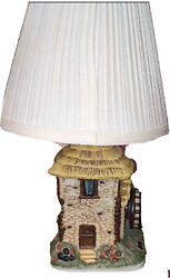 Soothing Music And Light Vtg House Of Lloyd Musical Lamp 1990 House With Windmill