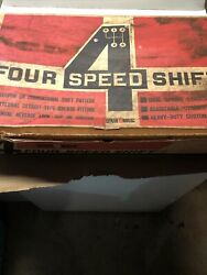 1960 Through 1964 Pontiac Four Speed Shifter In Box Complete Kit
