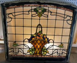 Fruit Bowl Stained Glass Window