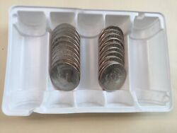 2019 Pd Kennedy Half Dollar 20 Coin-10pand10d Set Bu From Us Mint Bags Or Rolls