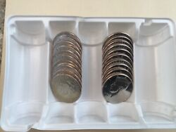 2018 Pd Kennedy Half Dollar 20 Coin-10pand10d Set Bu From Us Mint Bags Or Rolls