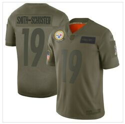 Youth Nike Salute To Service Juju Smith-schuster 19 Jersey Pittsburgh Steelers M