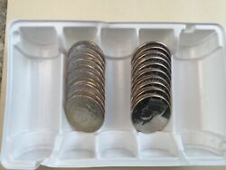 2015 Pd Kennedy Half Dollar 20 Coin-10pand10d Set Bu From Us Mint Bags Or Rolls