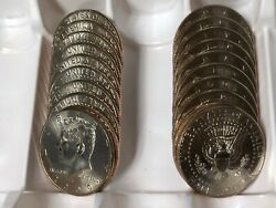 2004 Pd Kennedy Half Dollar 20 Coin-10pand10d Set Bu From Us Mint Bags Or Rolls